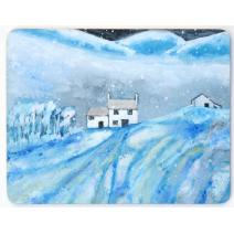 Winter Landscape Placemat Image