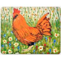 Chicken in the Garden Coaster Image