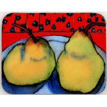 Yellow Pears Coaster Image