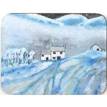 Winter Landscape Coaster - set of 6 Image